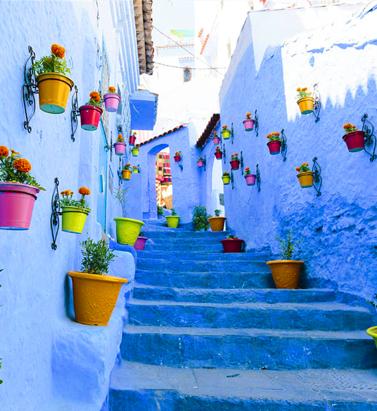 2 days private tour from fes to explore the Chefchaouen blue city