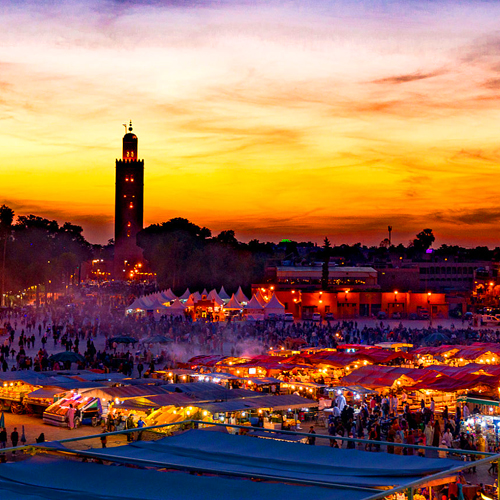 12 Days tour from Marrakech to imperial cities and Desert Camel trek
